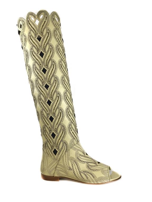 Сапоги летние женские 204-13289-4025 SM